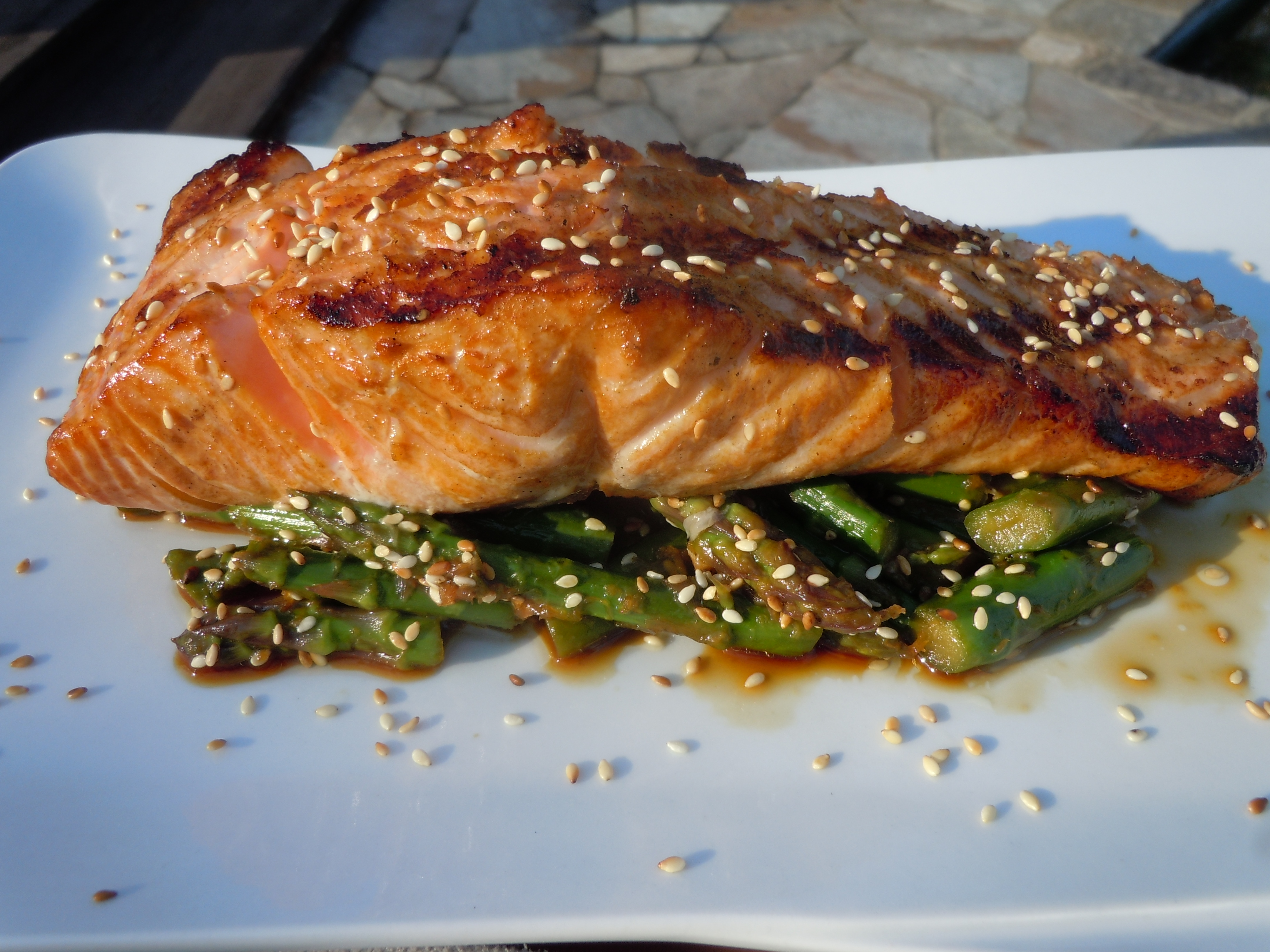 Grilled Asian Salmon | The Traveling Epicurean